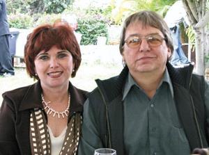 Estela Reed de Obeso e Ignacio Obeso