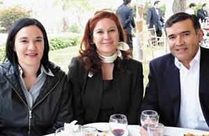 Sofía R. Pérez, Sara Pérez de De la O y Luis de la O