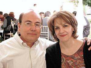 Jorge Guajardo y Gabriela Sánchez de Guajardo