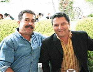 Hernando Garrido y Rogelio Ramos