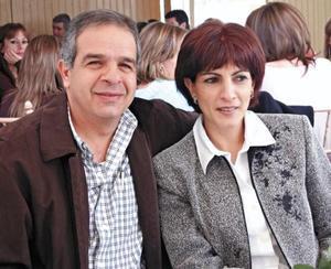 Félix y Blanca Giacoman