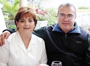 Marcela y David Sada