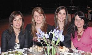 Bárbara Mijares, Ale Zarra, Gaby Zarra y Ana Sofía Méndez