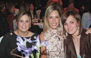 Selina Sada, Astrid Alatorre y Rocío Cabranes