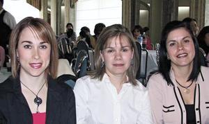 Verónica de Murillo, Gaby de García y Cecy de Vera