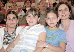 Marian Murra, Silvina Ruíz, Ilse Villarreal y Susana de Murra
