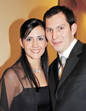Marcela Romo y Raúl Pérez