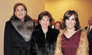Samia J. de Ollivier, Nadia Z. de Giacoman y Maria Luisa D. de Miñarro