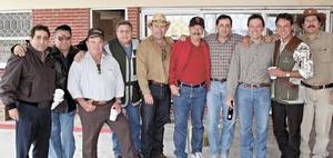 Ricardo San Juan, Sergio Lindan, Arturo Gilio, Elías González y Pablo Lechuga