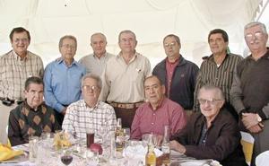Luis López, Jorge Castillón, Jorge Anaya, Braulio Fernández Aguirre, Héctor Fernández, Alberto López, Pedro Antonio Ruenes, Antonio Dueñes, Víctor Sirgo Ortiz, Luis de la Rosa y Paco Estrada