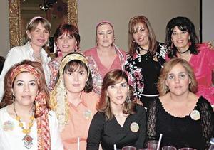 Paty Boheringer de Martínez, Gina Ramírez, Cony Borrego, Norma Boheringer, Margara Campuzano, Ileana Reed y Ana Garza