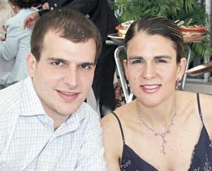 Adrián Murra y Laura García