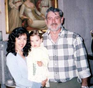 Andrea Manuela  Fernández Silveira cumplió dos años y sus papás, Cristina Silveira y Manuel Fernández Abusaid le organisaron una fiesta.