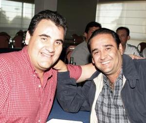 Ricardo Hamdan y Guillermo Diez.