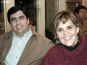 <b>19 de marzo 2005</b> <p> Ricardo Siller y María Gloria de Siller.