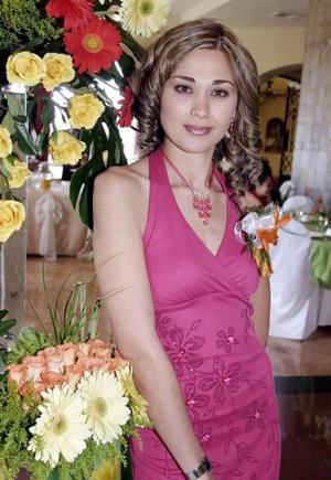 19 de marzo 2005  Lorena Gutiérrez Álvarez el día de su despedida de soltera.