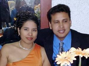 <b>19 de marzo 2005</b> <p> María Guadalupe Cabral y Francisco Burciaga Juárez.