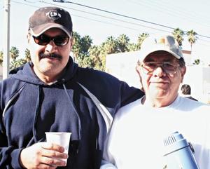 Sergio Cambero y Tomas Matías Román