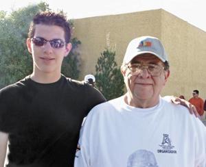 Jorge Ramírez Cavazos y Tomas Matías Román