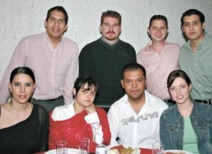 Ranier Cervantes, Mario Román, Sergio Berlanga, Rafé García, Rocío Nassar, Sonia Mansur, Francisco Contreras y Karina Kort
