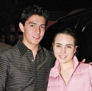 Bruno Carlos y Mariana Hernández