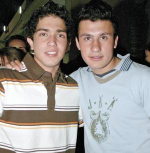 Roberto Massa y Daniel Chaidez
