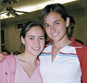 Daniela Garza y Nerea Villarreal