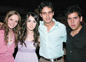 Marifer Núñez, Karina Berlanga, Juanjo Fernández y Gerardo de la Rosa