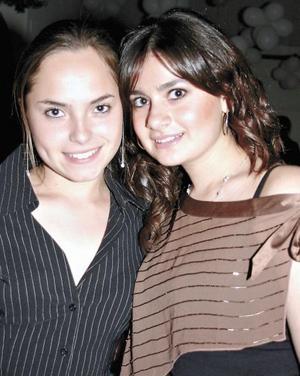 Tanya Rueda y Laura Gómez