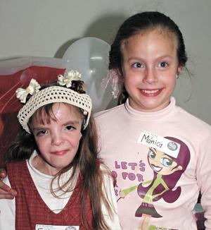 Erika Fernanda González y Mónica Ramos