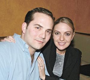 Georgina Cantú y José Antonio Alatorre