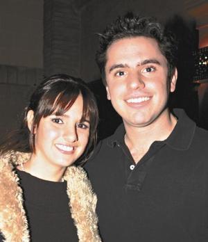 Angélica García y Joaquín Huerta