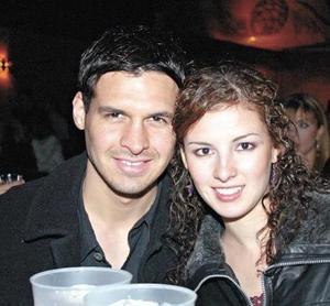 Israel García y Renata Olivares