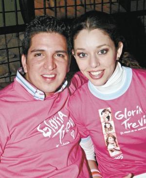 Roy Montes de Oca y Susu Luna
