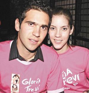 Manolo Fernández e Ivette Cornú