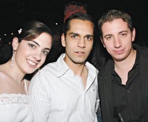 Any Díaz de León, Roberto Ramírez y Jorge Cepeda