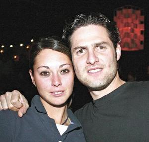 Bárbara Madero y Manolo Guedea