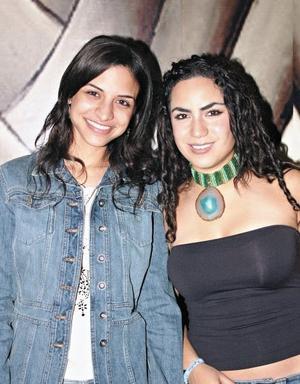 Cecilia Murra y Alejandra Soltero