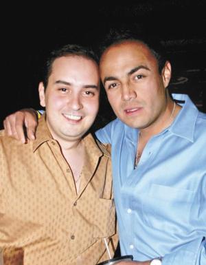 Ismael Cepeda y Luis Medrano