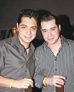 Alejandro Díaz Flores y Damián Aguilera