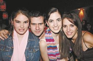 Regina Ortiz, Diego de la Parra, Any Díaz de León y Karla Martínez