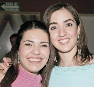 Gilda Berrueto y Claudia Mandan