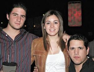Ernesto, Celina y Jorge