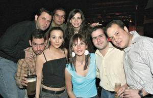 Poncho Ornelas, Alejandro, Susy Estrada, Chuy, Natalia Hinojosa, Karla Villa, y Diego de la Parra