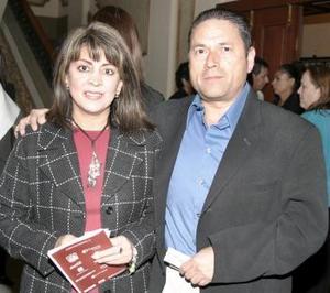Catalina y Gerardo Bejarano.