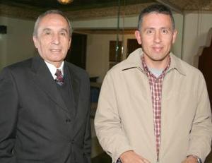 Fernando Díaz Vélez Aguirre y Fernando Díaz Vélez González.