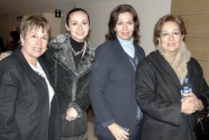 Mary Sada, Brenda Madero, Bertha Madero y Angélica Leal.