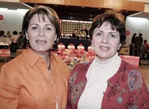 Verónica y Cristina Grajeda.