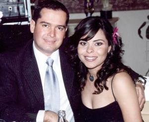 Ricardo Fiscal Arcaute y Sonia García de Fiscal.