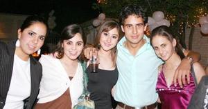 Daniela, Sory, Érika, Juanjo y Diana.